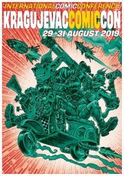 Крагујевац Comic Con  29-31. август 2019