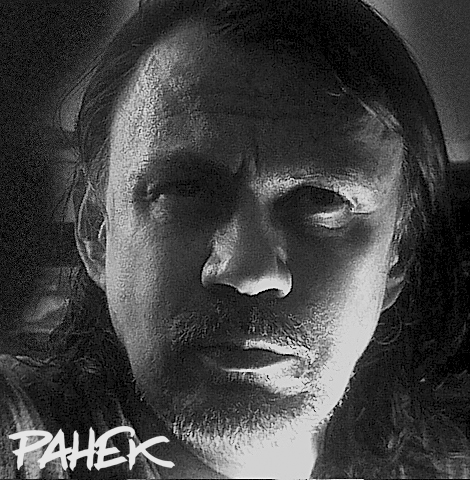 Zeljko Pahek artist with signature 2015